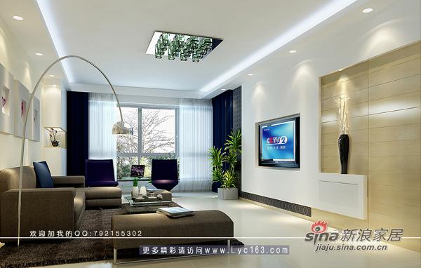 简约 二居 客厅图片来自用户2738829145在长沙金地华园73的分享