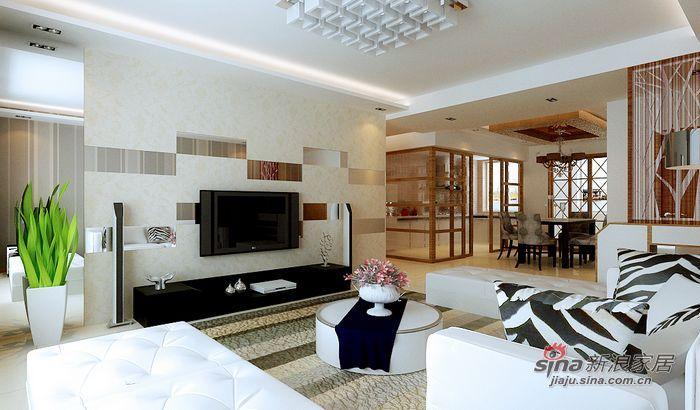 简约 三居 客厅图片来自用户2559456651在195平打造甜蜜三口之家63的分享