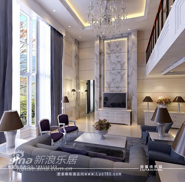 欧式 别墅 客厅图片来自用户2746869241在再现低调奢华----豪华别墅设计12的分享