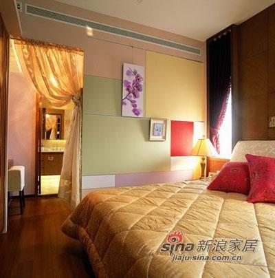 混搭 三居 卧室图片来自用户1907691673在情调女巧思120平混搭美家20的分享