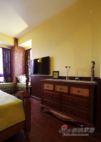 田园 二居 卧室图片来自佰辰生活装饰在90平复古风潮田园风格2居36的分享