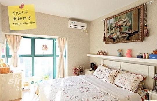 田园 二居 客厅图片来自用户2557006183在92平米美式田园碎花控77的分享