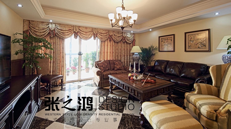 美式 二居 客厅图片来自用户1907686233在【高清】220平品味环岛凯尔顿传统美式风格25的分享