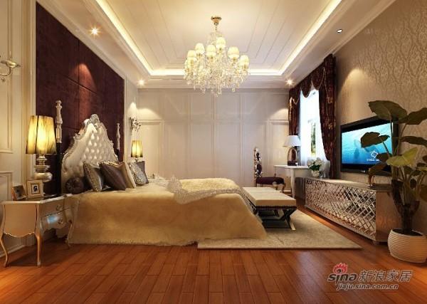 永定河孔雀城卧室设计