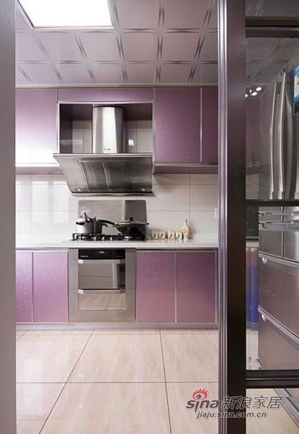 简约 三居 厨房图片来自用户2557979841在5万装修87平方典雅素色简约三居室40的分享