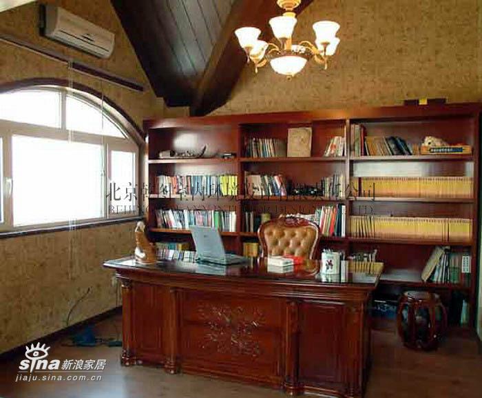 欧式 别墅 书房图片来自用户2746953981在棉花城38的分享