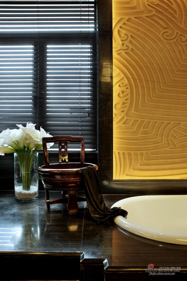 中式 别墅 卫生间图片来自用户1907659705在【高清】东方禅意——方直君御企业会所85的分享
