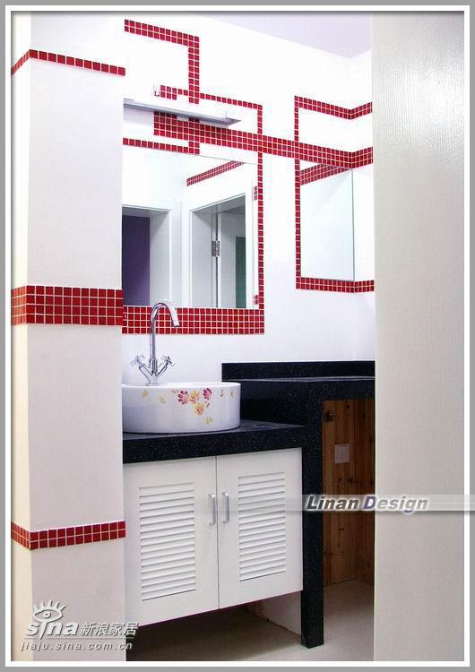 简约 四居 卫生间图片来自用户2556216825在红白黑的经典74的分享