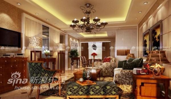 中海湖滨-客厅