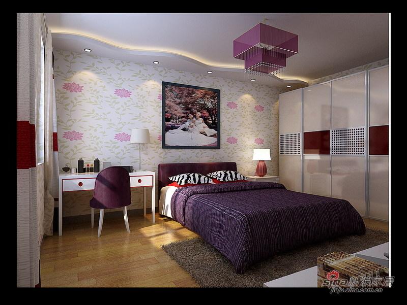 简约 三居 客厅图片来自用户2737782783在喜庆简约婚房设计16的分享