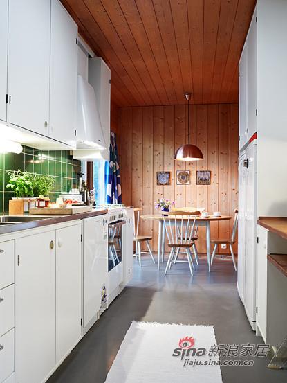 厨房的设计,很实用也很干净,干湿分区的布局很科学