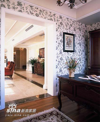 欧式 三居 书房图片来自用户2746948411在万城华府92的分享