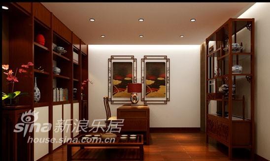 中式 三居 书房图片来自用户2740483635在中联部小区56的分享