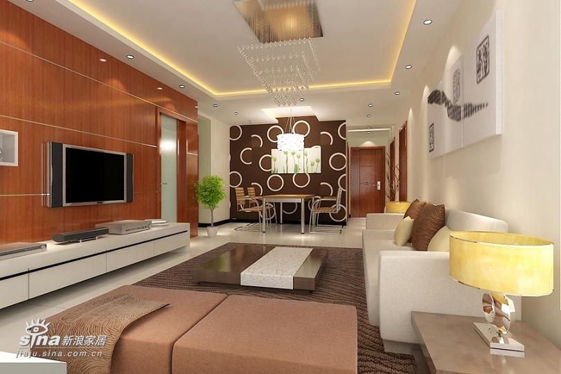 简约 一居 客厅图片来自用户2558728947在北京新天地现代简约设计64的分享