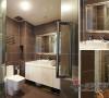 金属质感的卫浴空间使您在洗浴的同时仍能徜