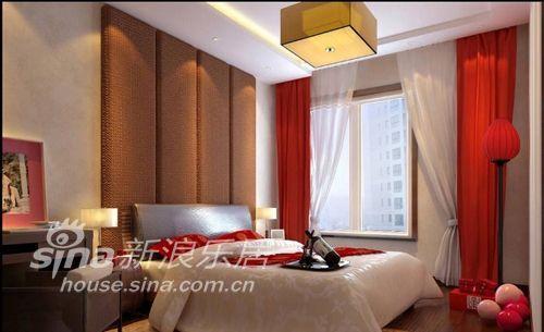 中式 二居 卧室图片来自用户2740483635在浪漫中国红75的分享