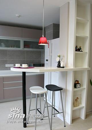 简约 三居 厨房图片来自用户2737782783在10万装134平3室2厅27的分享