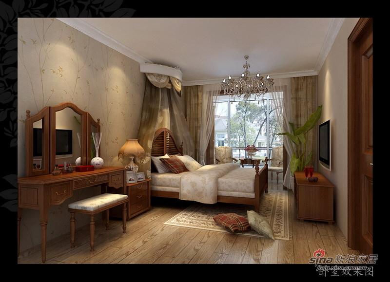 其他 二居 卧室图片来自用户2558746857在87平美式混搭两室一厅34的分享