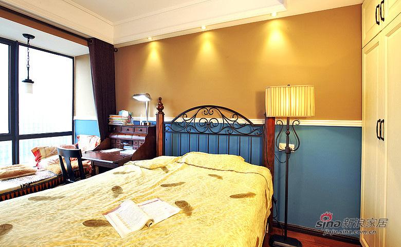 现代 三居 卧室 屌丝图片来自装修微日记在【高清】9万打造101平现代雅致空间52的分享