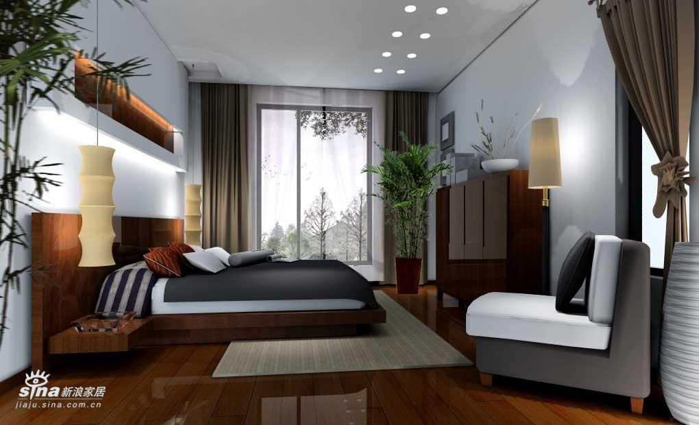 简约 四居 卧室图片来自用户2739153147在帝景一套69的分享