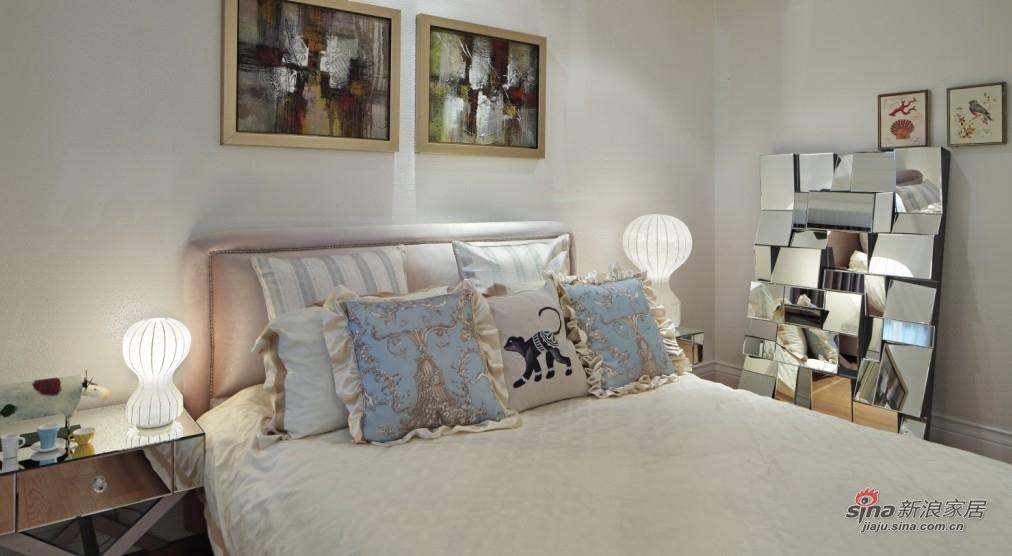 欧式 三居 卧室图片来自用户2757317061在【高清】14万装118平简约欧式三房39的分享