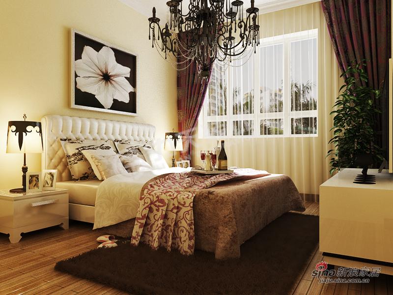 简约 二居 卧室图片来自阳光力天装饰在金隅悦城-两室两厅一厨一卫-现代简约62的分享