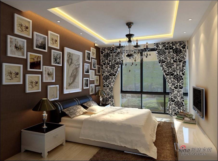 简约 loft 卧室图片来自用户2557979841在6.9万全新打造92平米loft简约实用家居30的分享