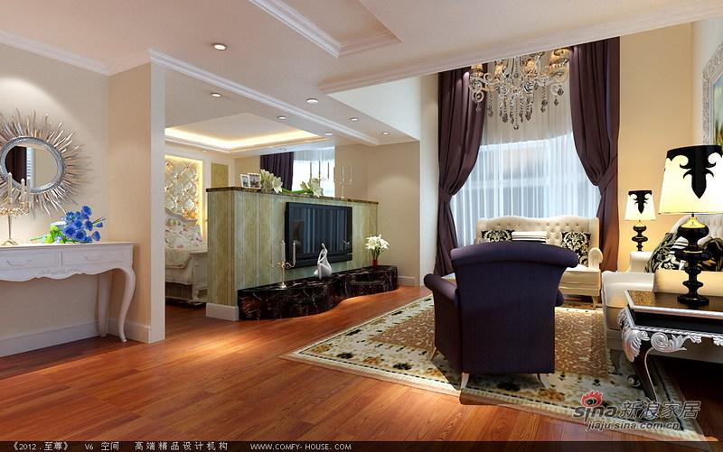 欧式 loft 客厅图片来自用户2757317061在自主城8万装110平LOFT简欧格调生活62的分享