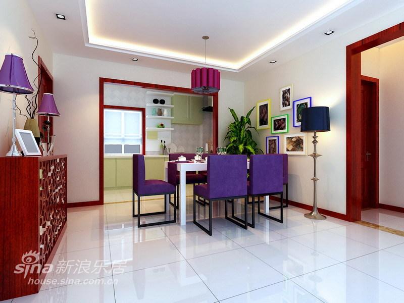 简约 三居 餐厅图片来自用户2739153147在舍繁求简6万精装140平明亮、舒适的生活空间32的分享