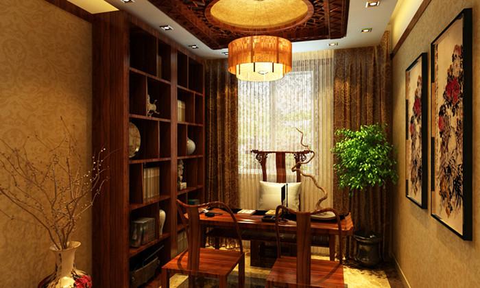 中式 别墅 书房图片来自用户1907662981在我的专辑851173的分享