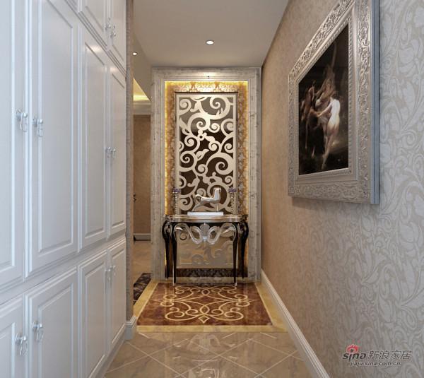 恒盛豪庭门厅装修效果图