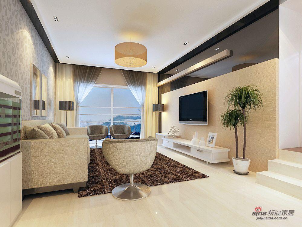 简约 三居 客厅图片来自用户2737782783在15万青岛嘉园170平时尚3居48的分享