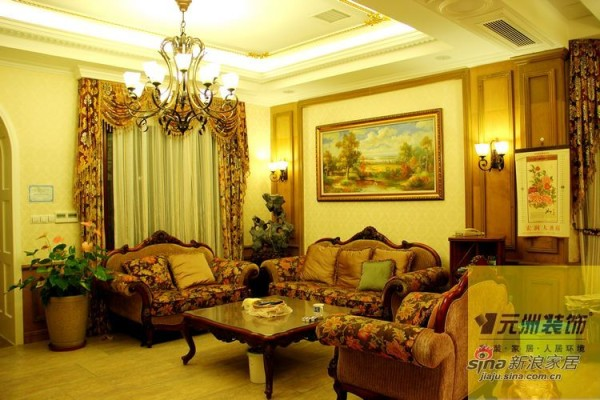 客厅--美式风格