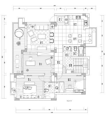 御庭苑1楼设计图