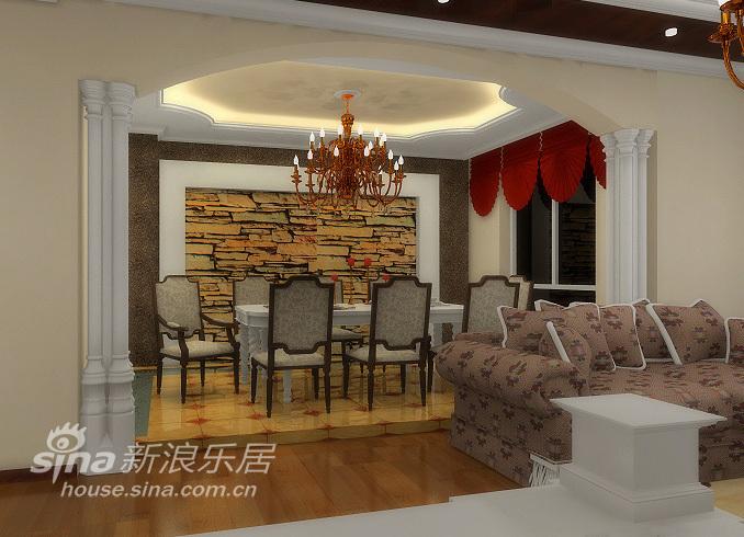 欧式 三居 餐厅图片来自用户2557013183在欧式风格三居92的分享