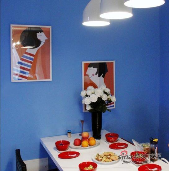 地中海 三居 餐厅图片来自用户2757320995在110㎡新婚装房简约风的无敌色彩蜕变53的分享