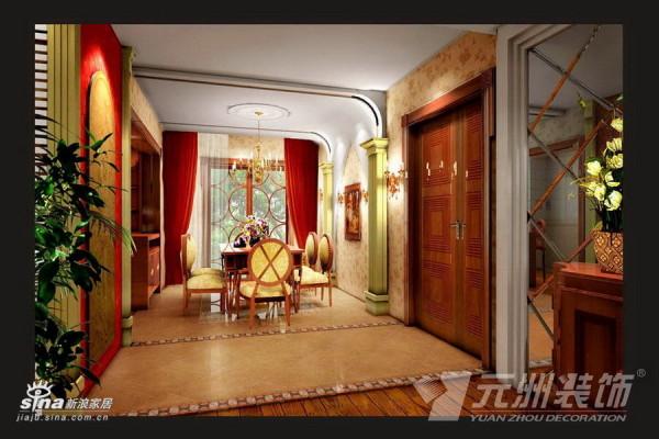 欧式 三居 餐厅图片来自用户2746953981在典雅欧式98的分享
