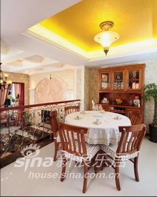 欧式 别墅 餐厅图片来自用户2772856065在春亭装潢 简欧混搭幸福小镇78的分享