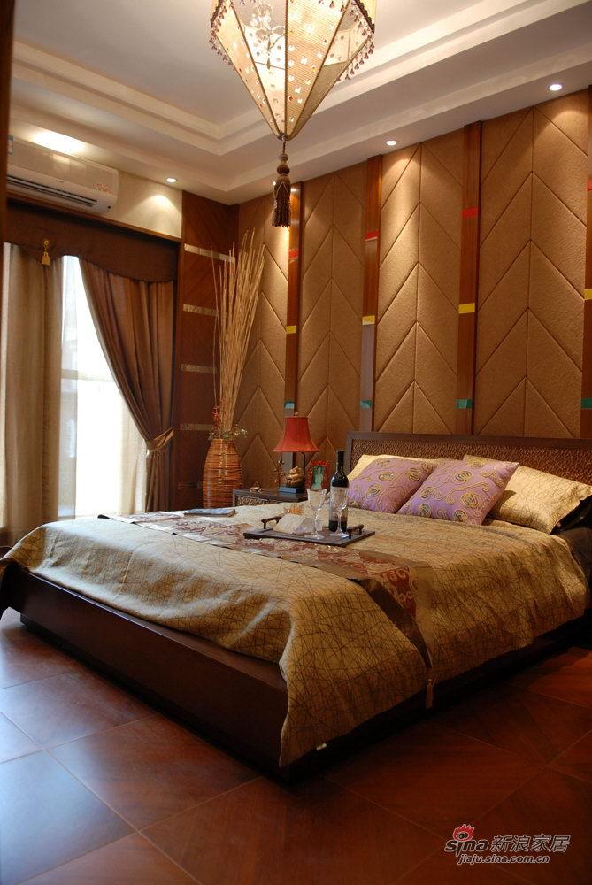 其他 别墅 卧室图片来自用户2558757937在168平东南亚风格别墅93的分享