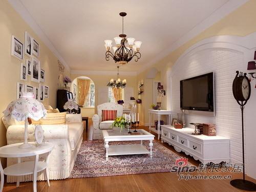时尚田园客厅设计