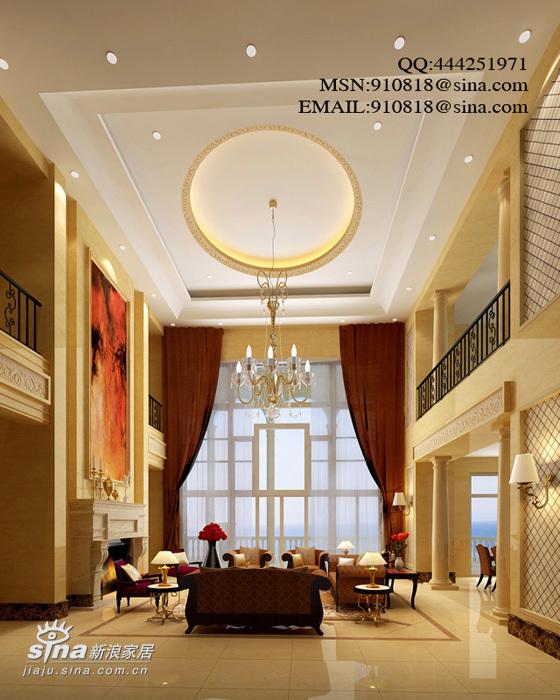 欧式 别墅 客厅图片来自用户2772873991在欧式别墅48的分享