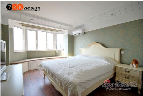 混搭 一居 卧室图片来自用户1907689327在简欧混搭64平田园迷你户型33的分享