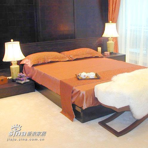 中式 别墅 卧室图片来自用户2740483635在杭州西湖时代样板房95的分享