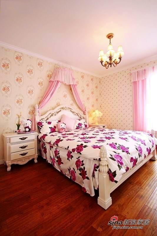 粉嫩的卧室装扮
