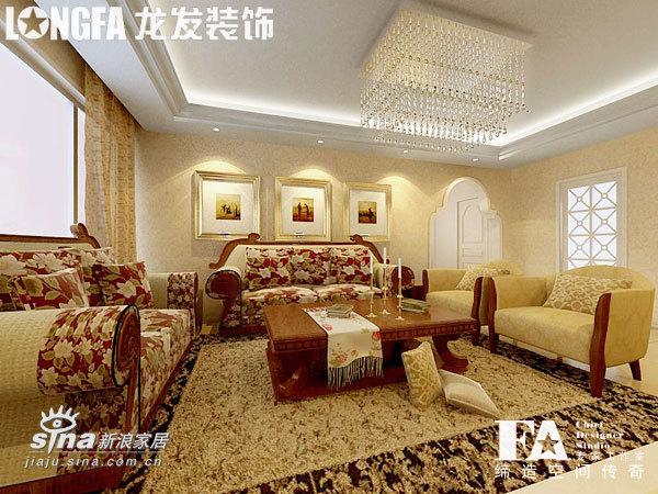简约 三居 客厅图片来自用户2745807237在三居简约欧式样板间51的分享