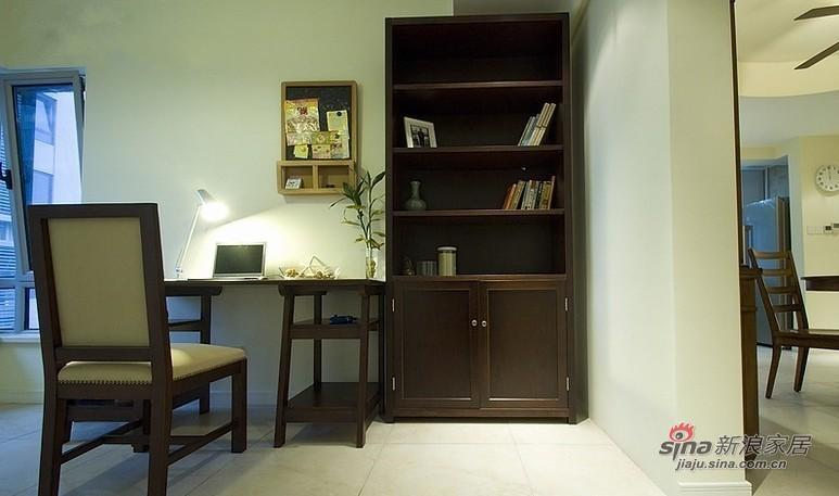 田园 三居 书房图片来自用户2737946093在90平装3室2厅地中海温馨家20的分享