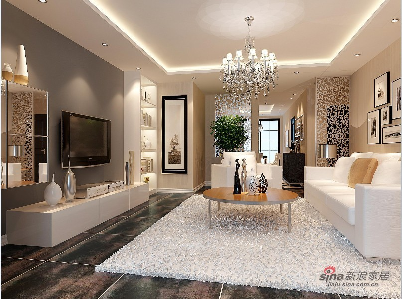 混搭 三居 卧室图片来自用户1907655435在彰显不同生活方式的完美客厅设计28的分享
