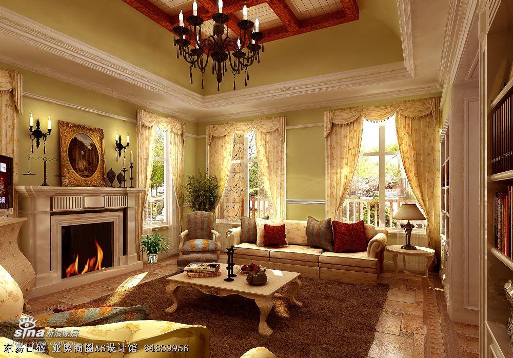 其他 复式 客厅图片来自用户2737948467在保利垄上 张志宽 亚奥46的分享
