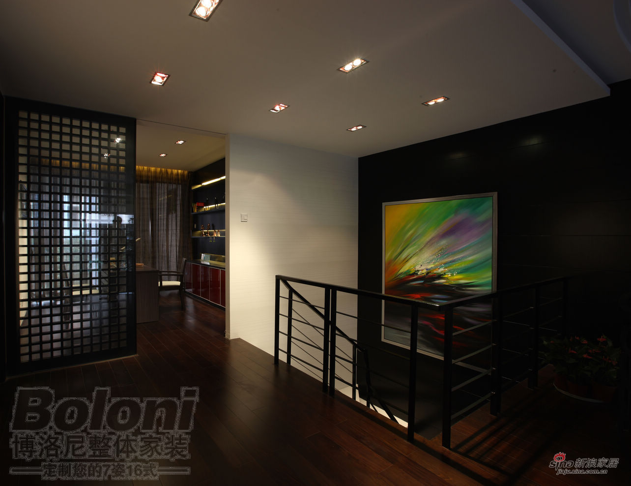 简约 复式 客厅图片来自用户2739378857在复式经典实景效果13的分享