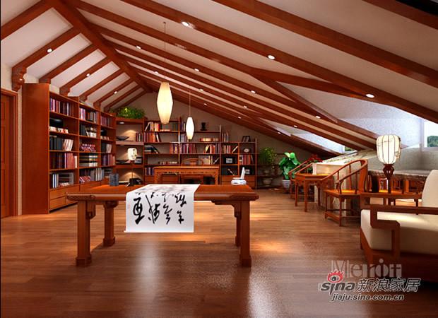 其他 别墅 书房图片来自用户2558757937在新贵主义风格演绎93的分享